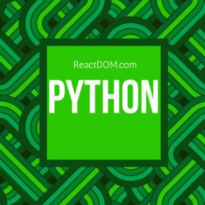 Learn Python: Best Python tutorials & best Python books 2018